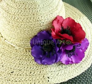 anemone silk fabric