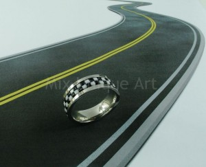Mixua_Checkered Flag Ring