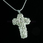 Art Clay Silver Christian Cross