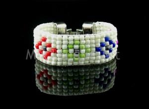 bead weave cuff bracelet