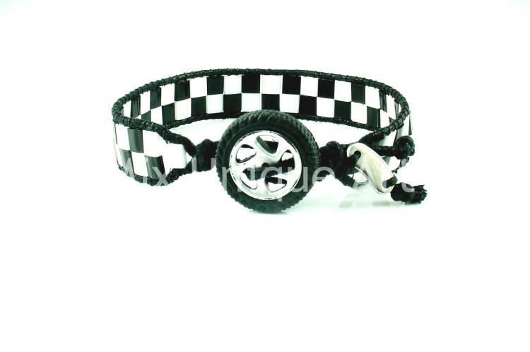 Checkered Flag Bracelet