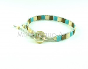 Square Beads Bracelet