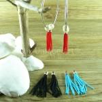 Interchangeable earrings tassel