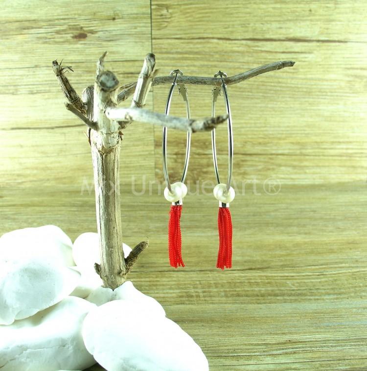 mixua_interchangeable earrings for women tassel (2)