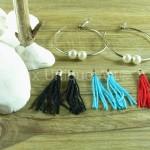 mixua_interchangeable earrings for women tassel (7)