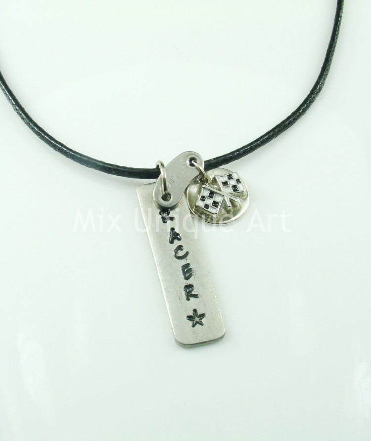Pendent for men - RACER