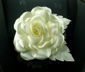 Camellia - flower in ivory silk